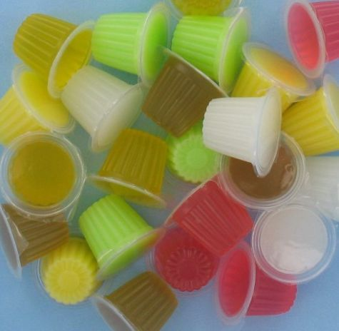 JELLY FRUITCUPS MIX PER 100