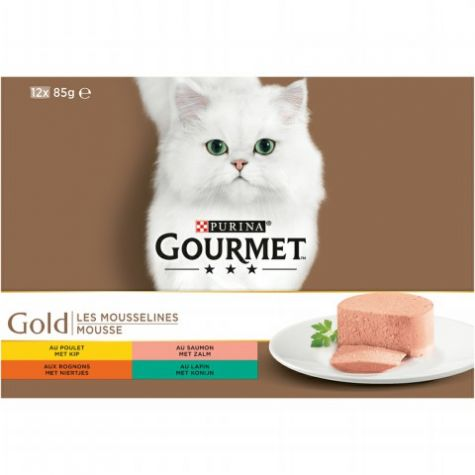 GOURMET GOLD 12PACK FIJNE MOUS