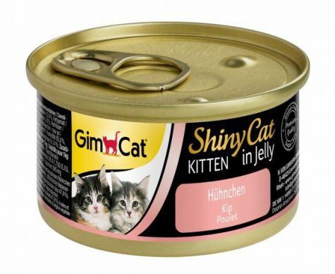 GIMCAT SHINYCAT KITTEN IN JELLY KIP, 70 G
