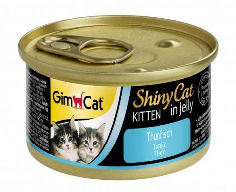 GIMCAT SHINYCAT KITTEN IN JELLY TONIJN, 70 G