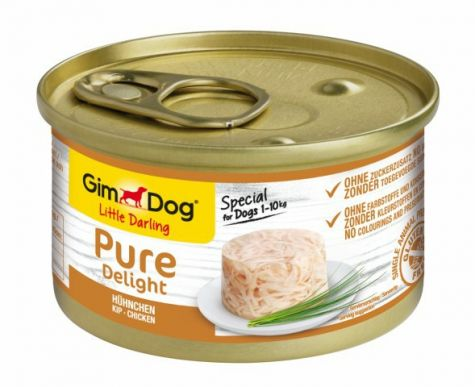 GIMDOG LITTLE DARLING PURE DELIGHT KIP, 85 G
