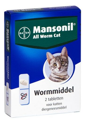BAYER ALL WORM CAT 4 T
