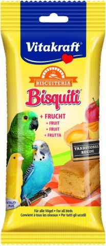 VITAKRAFT BISQUITI FRUIT VOGEL, 50 GR