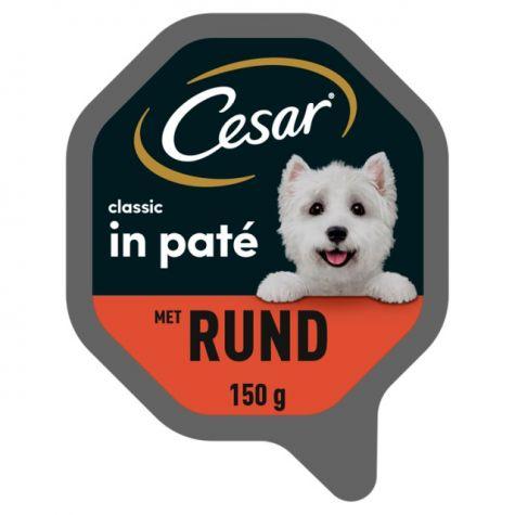 CESAR CLASSIC RUND KUIPJE 150 G