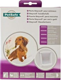 PETSAFE STAYWELL CAT DOOR SMALL WIT