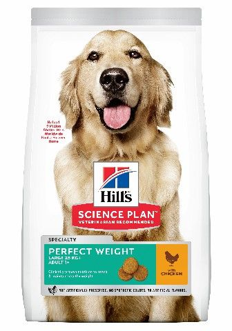 HILLS HOND ADULT PERFECT WEIGHT LARGE BREED 12KG