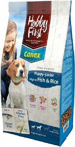 HOBBYFIRST CANEX PUPPY-JUNIOR HIGH IN FISH & RICE 12 KG