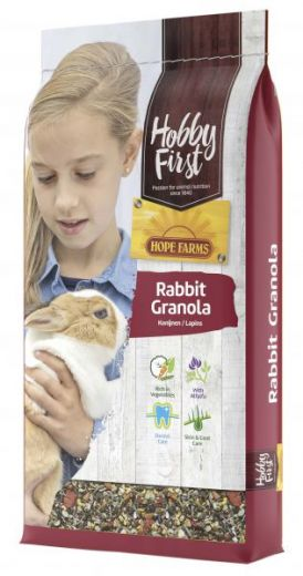 HOBBY FIRST HOPE FARMS RABBIT GRANOLA 10 KG