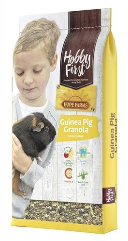 HOBBY FIRST HOPE FARMS GUINEA PIG GRANOLA 10 KG