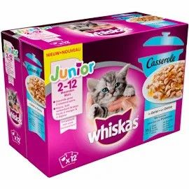 WHISKAS CASSEROLE JUNIOR VIS S