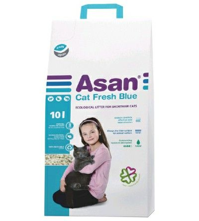 ASAN CAT FRESH BLUE 10 LITER