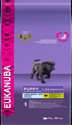 EUKANUBA DOG GROWING PUP LARGE BREED12 KG