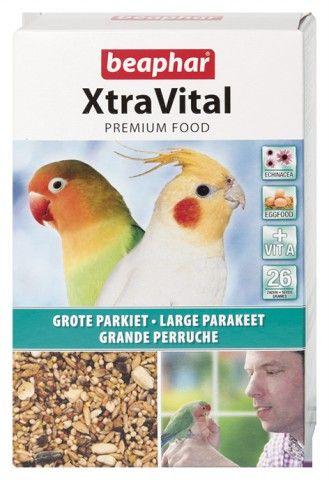 BEAPHAR XTRAVITAL GROTE PARKIET 500GR
