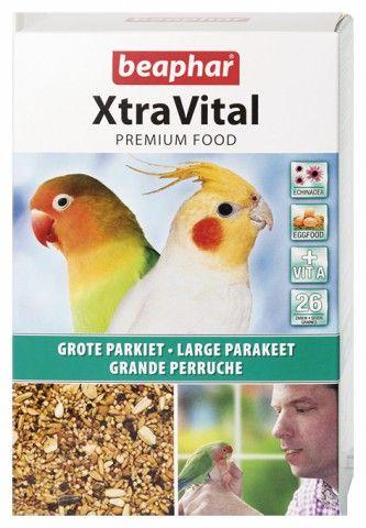 BEAPHAR XTRAVITAL GROTE PARKIET 1KG