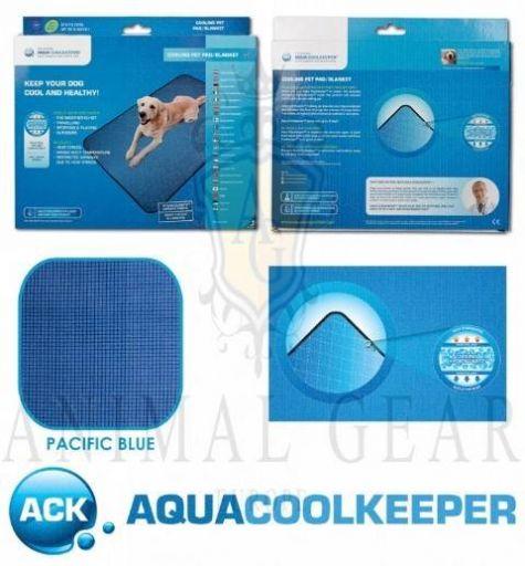 AQUA COOLKEEPER COOLING MAT PACIFIC BLUE 13 XXL 100 CM X 90 CM (45MIN)